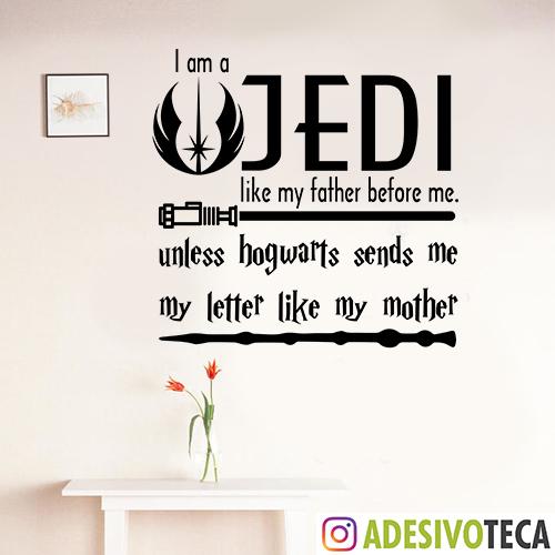 Adesivo de Parede Jedi 02