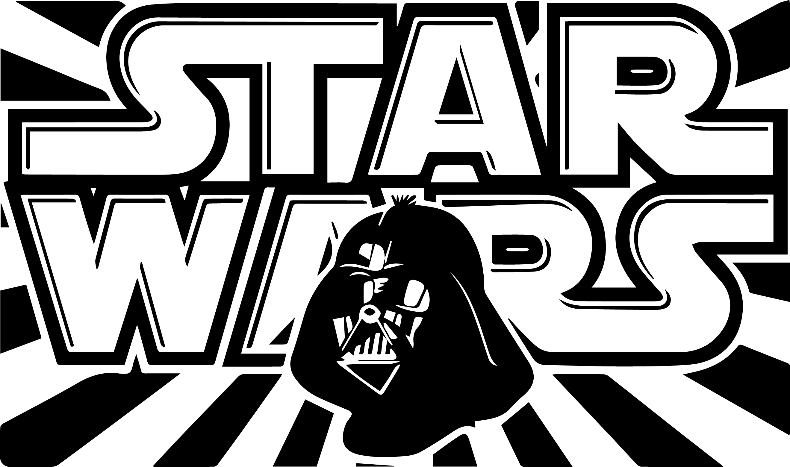 Adesivo de Parede Star Wars  Adesivoteca  Quarto, sala, Infantil