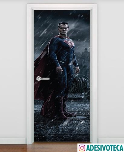 Adesivo de Porta Superman 02