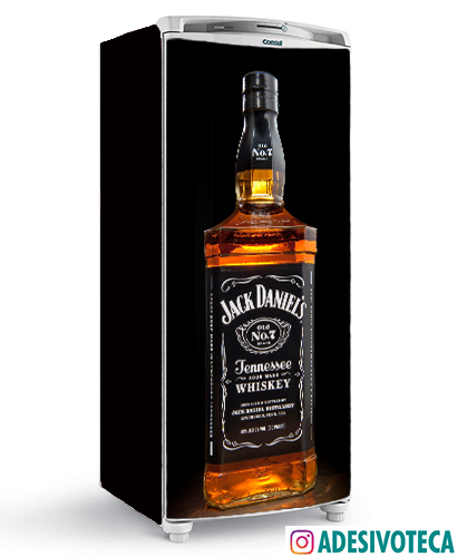 Adesivo geladeira Jack Daniels